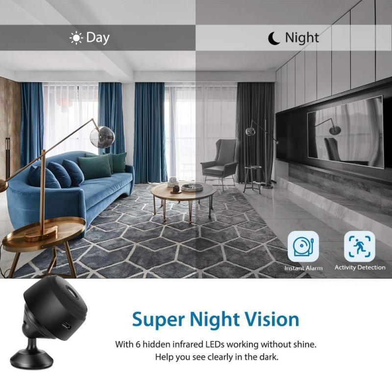 Mini Wifi IP Camera 1080P HD Video Security Surveillance Kamera Home Outdoor Indoor Micro Camcorder