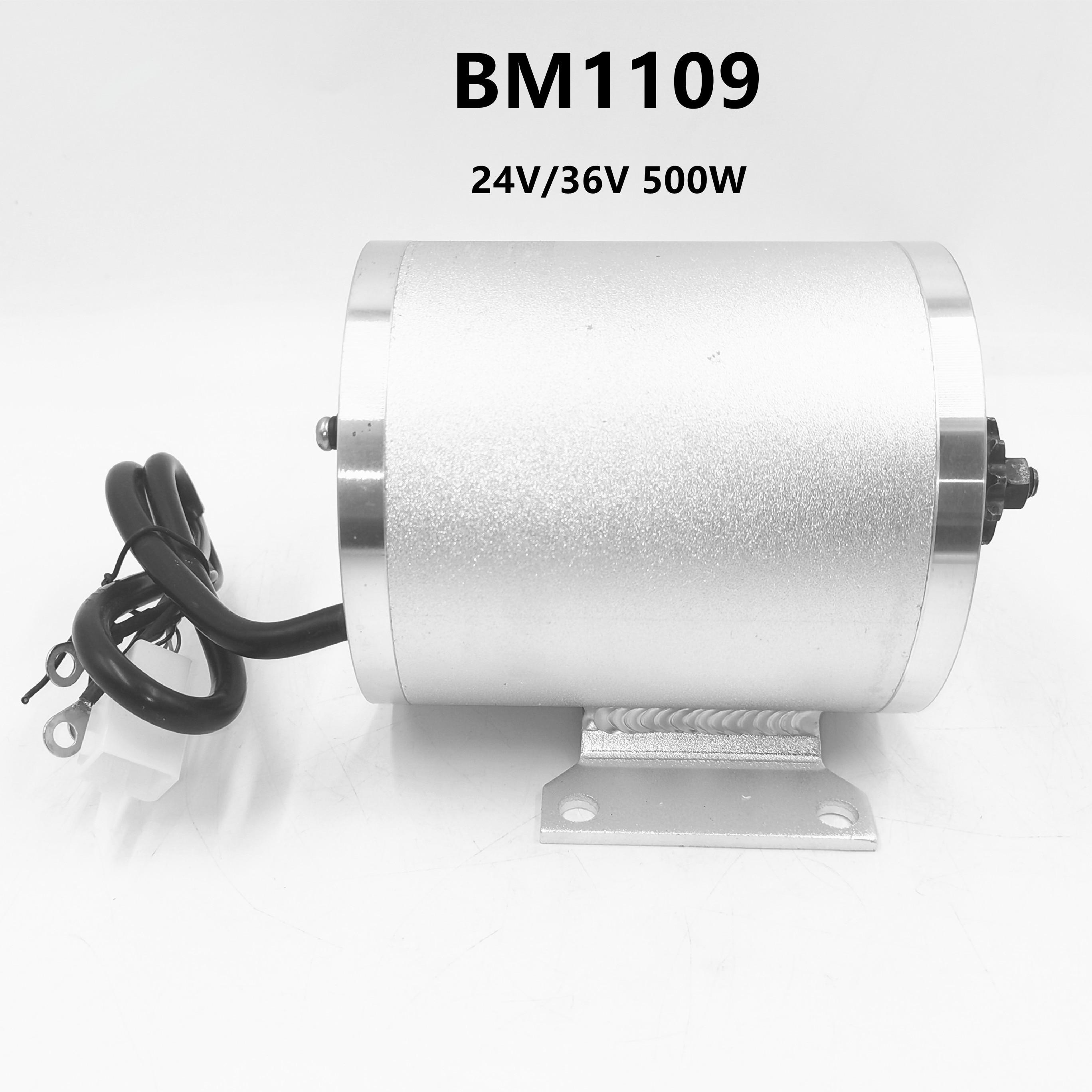 BM1109-محرك كهربائي 500 واط ، 36 فولت ، 48 فولت ، بدون فرش ، سرعة عالية ، DIY ، تيار مستمر ، للعربة ، دراجة كهربائية ، التنقل ، تعديل السيارة