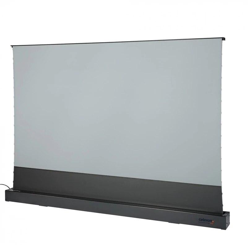 VIVIDSTORM الكهربائية التوتر الطابق موتور حامل الشاشة سبج طويل التركيز ALR نشمر شقة المحمولة قابلة للطي الرئيسية/فيلم/مسرح