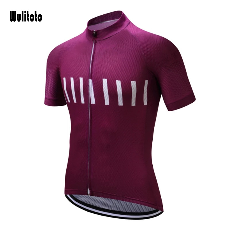 2021 The New Arrival WULITOTO Summer Highway Short Sleeve MTB Quick Dry Cycling Jersey for Men nw cycling jersey for men quick dry short sleeve clothing set summer outdoor sportswear black retro cycling jersey for men