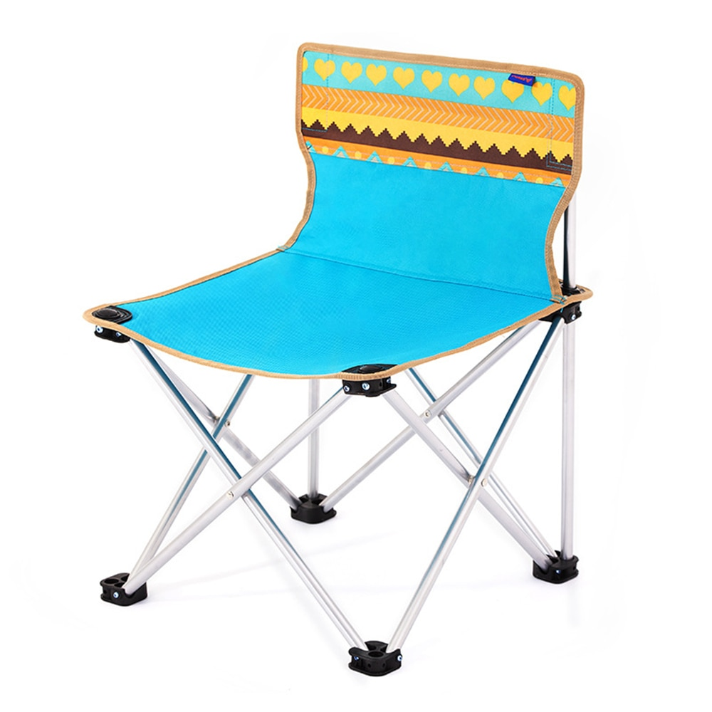 portable aluminum folding chair stool seat outdoor fishing camping picnic padded folding chair fishing Outdoor Folding Chair Camping Portable Fishing Seat Outdoor Furniture for Camping Fishing BBQ Picnic
