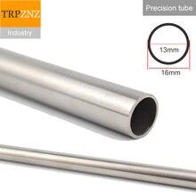 304 tube dacier inoxydable tuyau de précision, OD16x1.5mm, diamètre extérieur 16mm, paroi épaisse 1.5mm, diamètre intérieur 13mm, tolérance 0.05mm