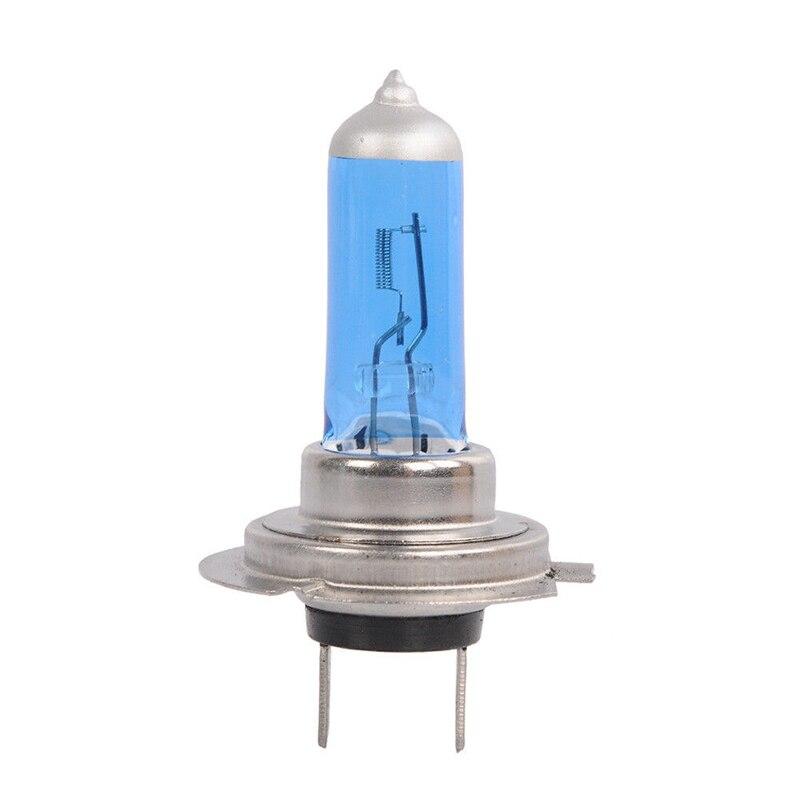 10 шт., Ксеноновые белые галогенные лампы H7, 12 В, 55 Вт, 6000K, супер белые автомобильные лампы, галогенные автомобильные лампы
