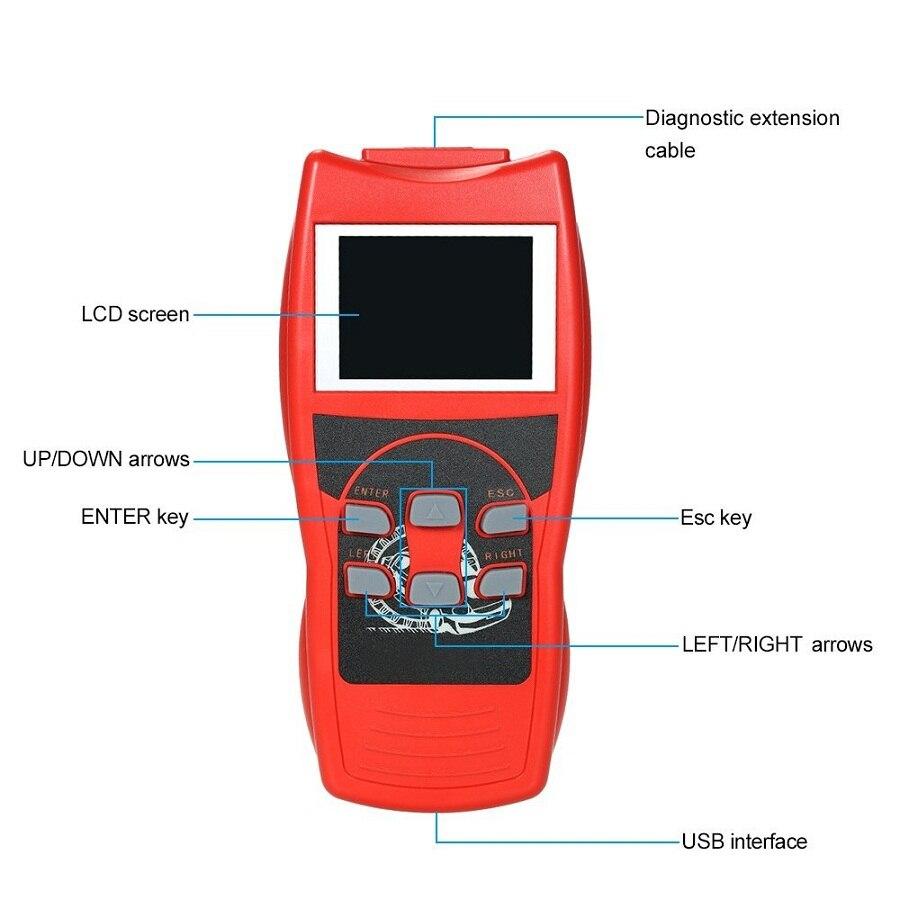 DHL/UPS/FEDEX Express Verschiffen VAG UDS K + KÖNNEN Bunte Display Professionelle Auto Diagnose Werkzeug Lesen Scanner auto Diagnose V802