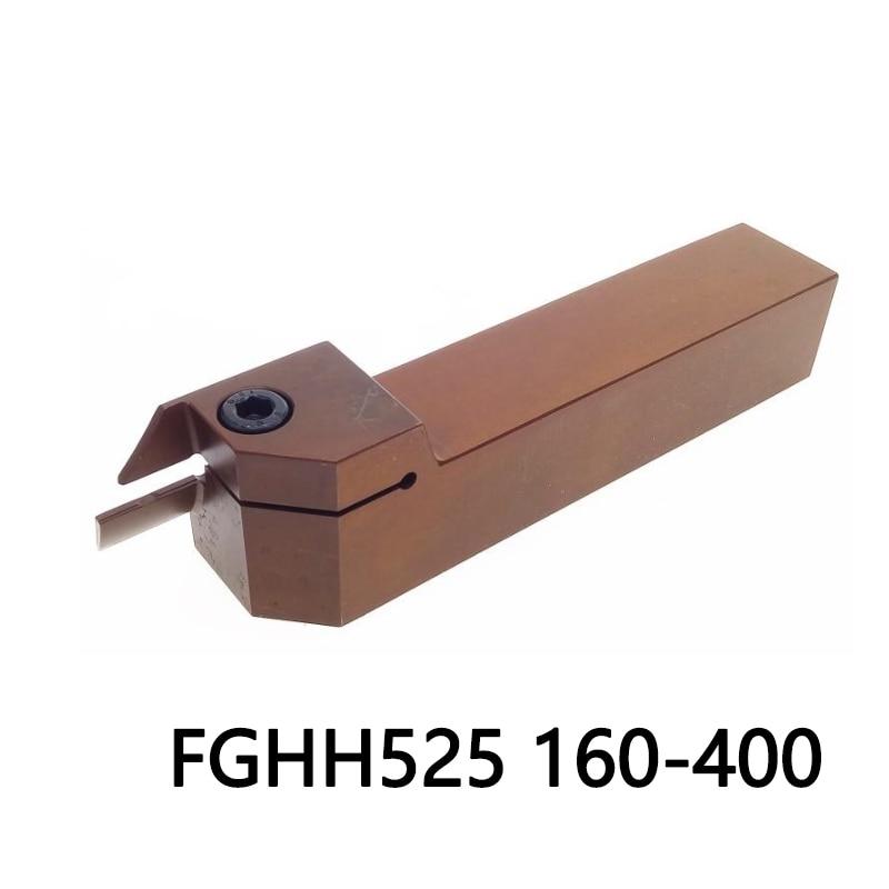 1 قطعة FGHH525R 160/400 FGHH ربيع الصلب الحز تحول رأس تثبيت الملحقات CNC مخرطة القاطع جودة عالية الآلات