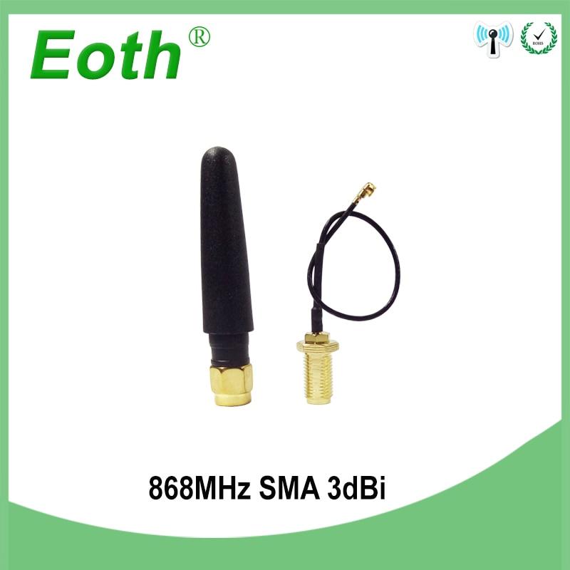 GSM 868 МГц 915 МГц антенна 3bdi SMA разъем GSM антенны 868 МГц 915 МГц антенны + 10 см RP-SMA/u. FL кабель Pigtail