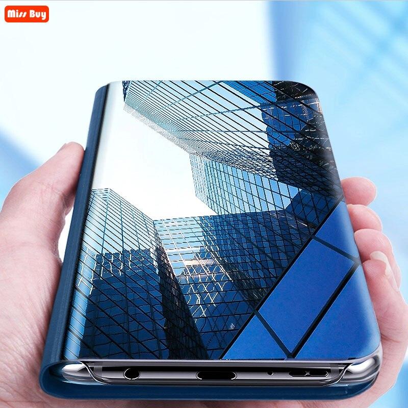 Чехол для OPPO A83, роскошный зеркальный флип, умный чехол, чехол для OPPO A1 A71, Fundas, защитный противоударный чехол с подставкой, защитный чехол, Fundas