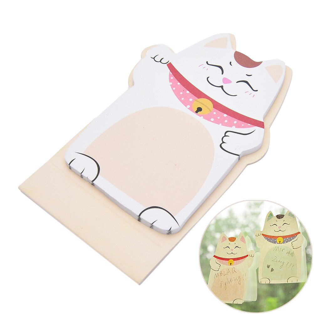 Cute Lucky Cat Animal Mini Planner Sticker Notepad sticky notes School Supplies Material Sticky Memo Agenda Notes For Student cute lucky cat animal mini planner sticker notepad sticky notes school supplies material sticky memo agenda notes for student