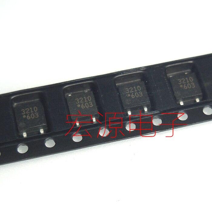 5 pces ASSR-3210 3210 chip/sop optoacoplador relé de estado sólido optoacoplador