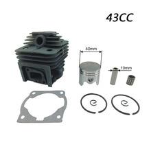 Koop Cilinder Zuiger Voor 43CC CG430 BG430 Mitsubishi TL43 Strimmer Bosmaaier T