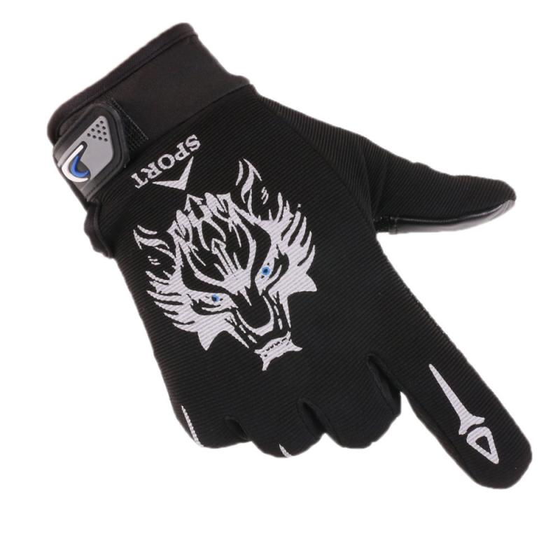 Men's and Women's Outdoor Cycling Full-Finger Gloves Sunscreen Anti-Skid Fitness Army Fan Outdoor Sports Racing Climbing Gloves the new black hawk skid protector gloves fitness means
