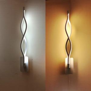 Modern Wall Lamps Art Nordic Wall Lights Wave Shape Wandlamp For Living Room Bedroom Lighting Led Sconce Light Lamparas De Pared