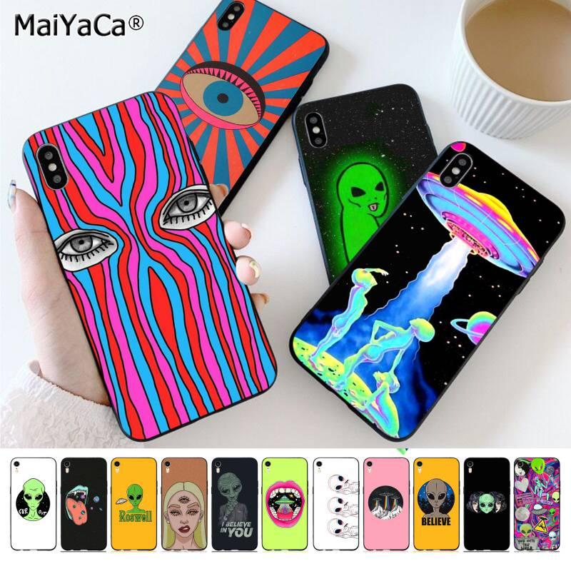 MaiYaCa эстетика милый мультяшный Космический Чехол для iPhone 11 pro XS MAX 8 7 6 6S Plus X 5 5S SE XR