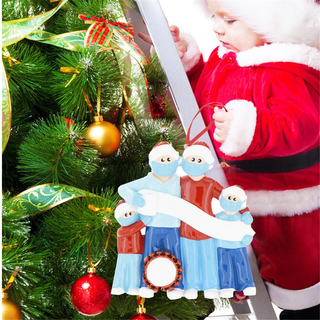 Christmas Ornament DIY  Decoration Gift Personalized Hanging Holiday Home Decor Xmas Gifts