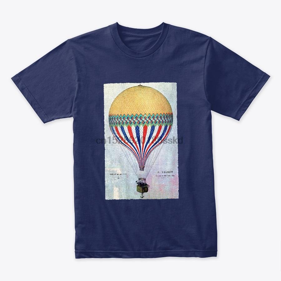 Men t shirt VINTAGE HOT AIR BALLOON tshirts Women t-shirt