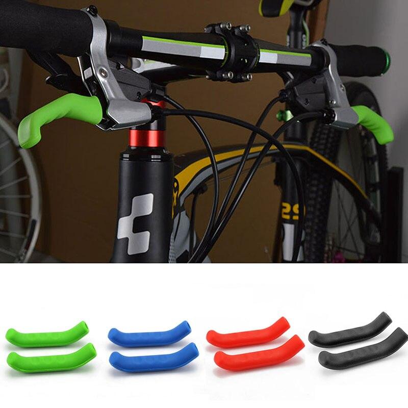 Cubiertas protectoras de silicona, 1 par, para palanca de freno de bicicleta de montaña o carretera