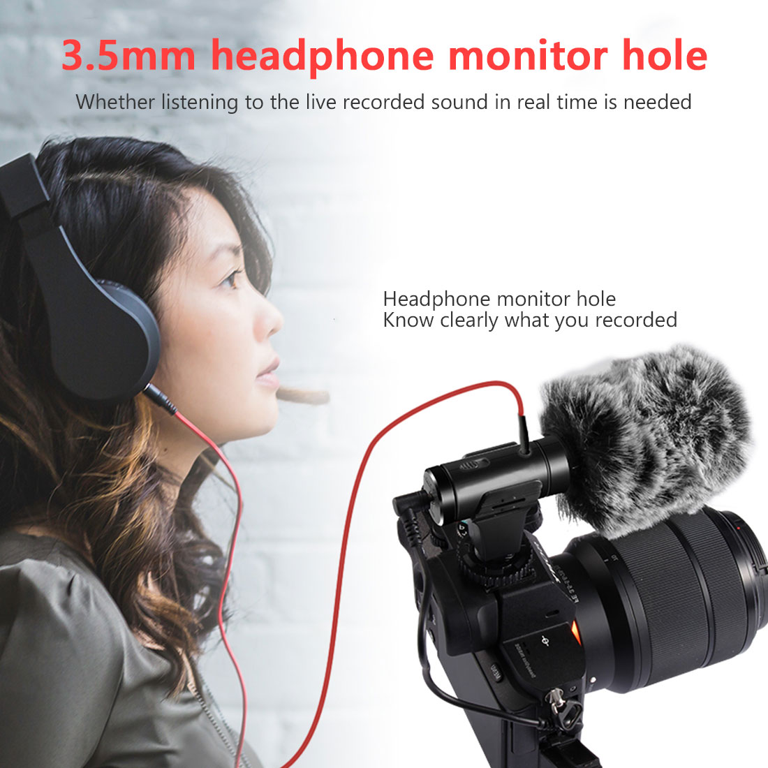 MIC-05/MIC-01/MIC-07/MIC-07PRO Recording Microphone 3.5mm Audio Plug Professional Camera For VLOG Video Photography Interview enlarge