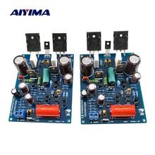 Aiyima 2 pçs amplificador de potência placa áudio 1943 5200 amplificador de som 120wx2 2.0 canais alta fidelidade mini amp linear transistor bipolar