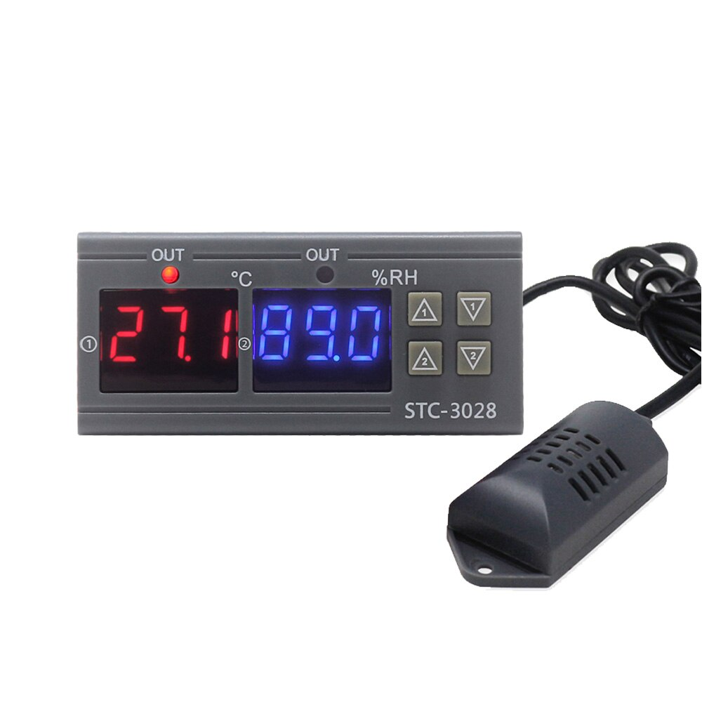 STC-3008 Digital Thermostat STC-3028 Temperature Humidity Controller Thermostat Humidistat Thermomet