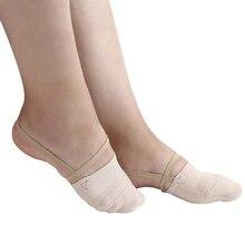 Jusenda scarpe da ginnastica ritmiche mezze calze morbide maglia Roupa Ginastica competizione professionale suola scarpa proteggi pelle elastica