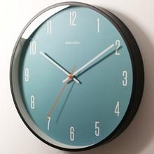 Modern Wall Clock Wood Blue Living Room Bedroom Nordic Creative Wall Clocks Home Decor Kitchen Relogio De Parede Home Gift SC639