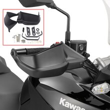 Noir Moto Protège-mains Protège-mains Pour Kawasaki Z900 2017 Versys 650 Versys 1000 2010 11 12 13 15 14 15 16 Protège-main