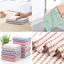 Toalhas de cozinha do agregado familiar absorvente thicke super absorvente toalha de limpeza de cozinha toalha de limpeza de mesa pano de lavagem de prato