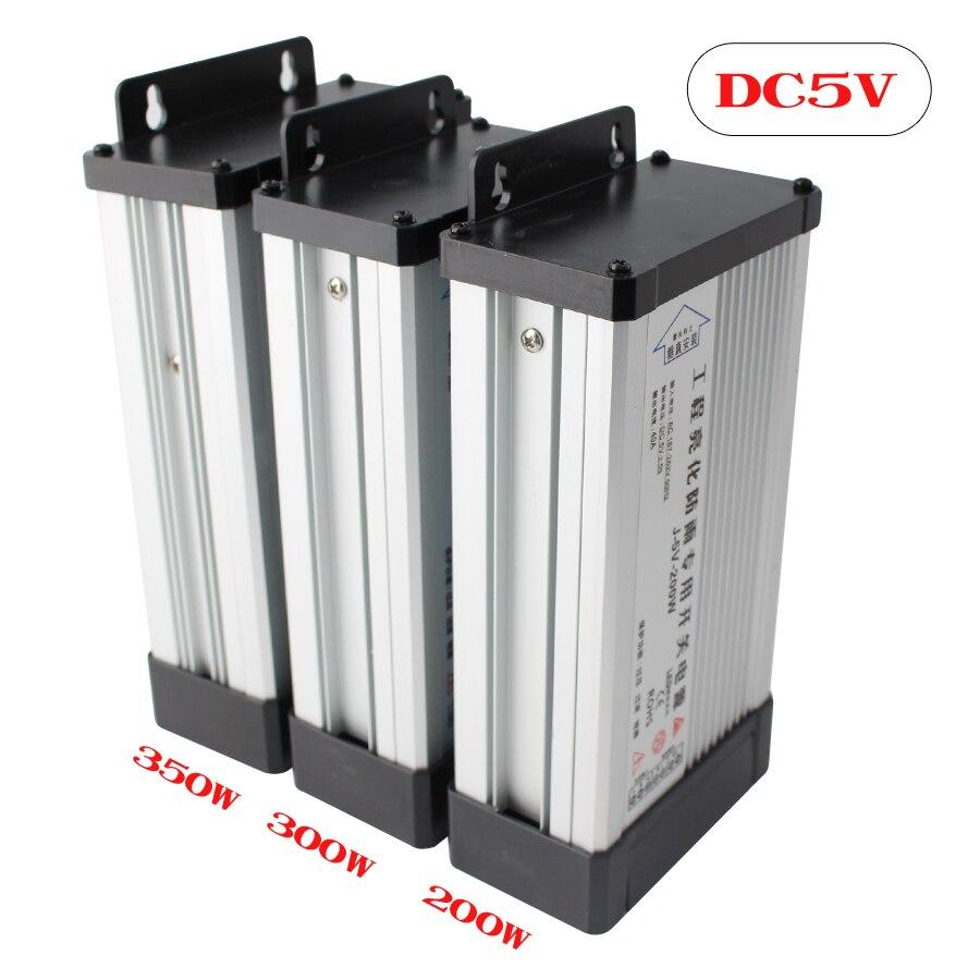 5V 12V 24V adaptador de fuente de alimentación transformadores de iluminación CA CC 220V a 5V 12V 24V fuente de alimentación Controlador LED al aire libre a prueba de lluvia