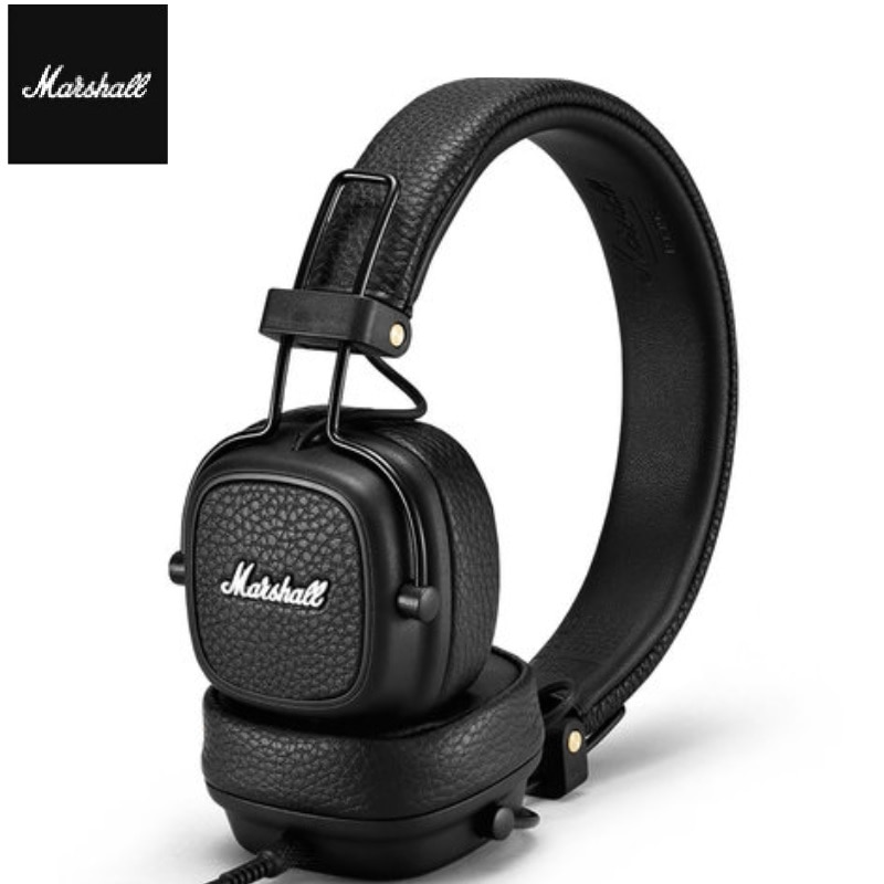 Marshall Major III Wireless Bluetooth Headphone For Pop Rock Music With Leather Microphone Bass Effect enlarge