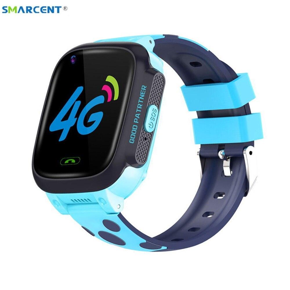 Y95 الأطفال 4G ساعة ذكية HD مكالمة فيديو كاملة Netcom مع AI الدفع واي فاي دردشة لتحديد المواقع ساعة مقاوم للماء الهدايا