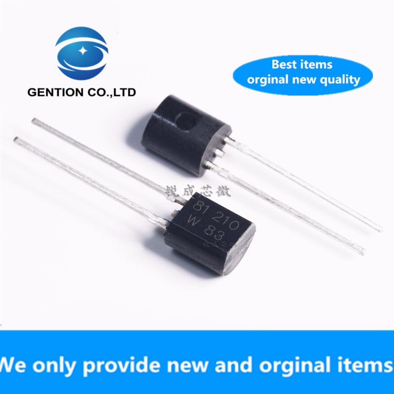 101 pces 100% original novo kty81/210112 sod-70 sensor de temperatura ptc termistor kty81/210 KTY81-210 kty81/221 KTY81-221