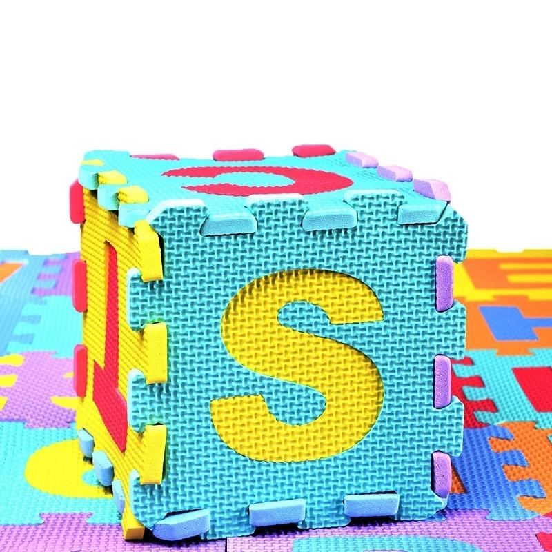 الأطفال المصغرة إيفا رغوة الحروف الأبجدية أرقام الزحف الطابق تلعب سجادة ألغاز للأطفال لعبة تعليم اللغة