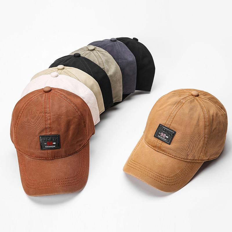 Wholesale 6 panel dad hats baseball caps men cotton sports cap