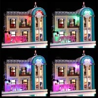 vonado led lighting set for 10260 downtown diner collectible model toy light kit not included the building block