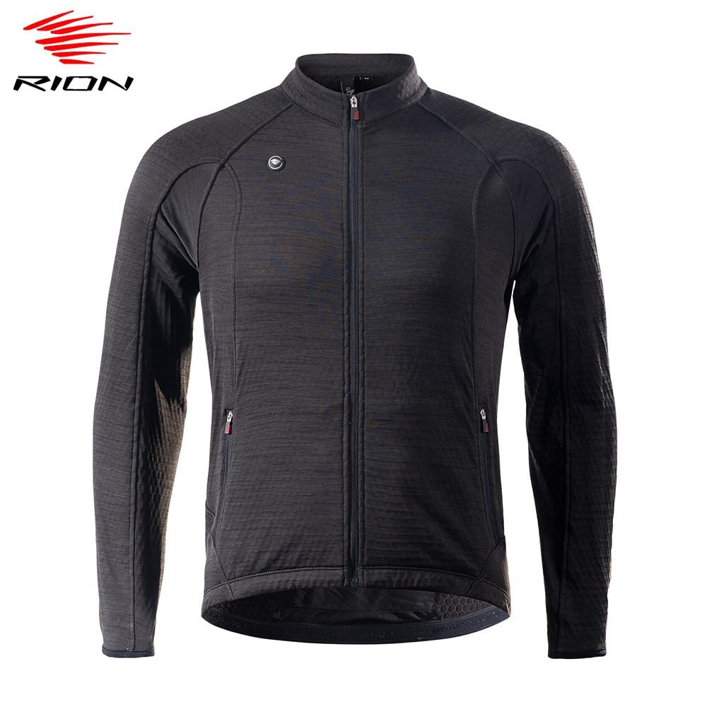 RION cycling jersey maillot ciclismo manga larga invierno hombre ropa mtb maillot...