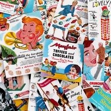 67pcs Creative Candy poster vintage Scrapbooking Stickers Decorative Sticker DIY Craft Photo Albums