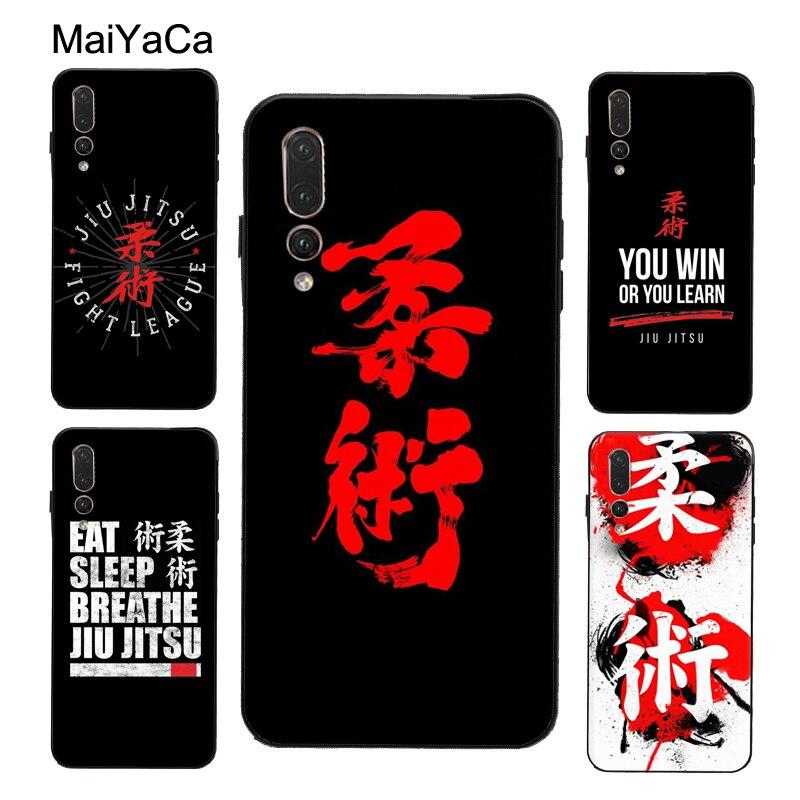 MaiYaCa BJJ Jiu Jitsu brasileño arte funda para Huawei Honor 20 10 Lite 9 9X 8X 8A 8C 8S 7A Pro 7C Y6 Y9 Y7 2019 Nova 5T 10i