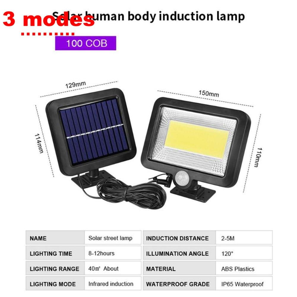 Radar Solar light Motion Sensor LED Solar Lamp Outdoor Waterproof Garden Street Fence Security Decoration Christmas Solar light