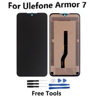 6 3 inch for ulefone armor 7 lcd display touch screen assembly repair parts for ulefone armor 7e screen lcd display