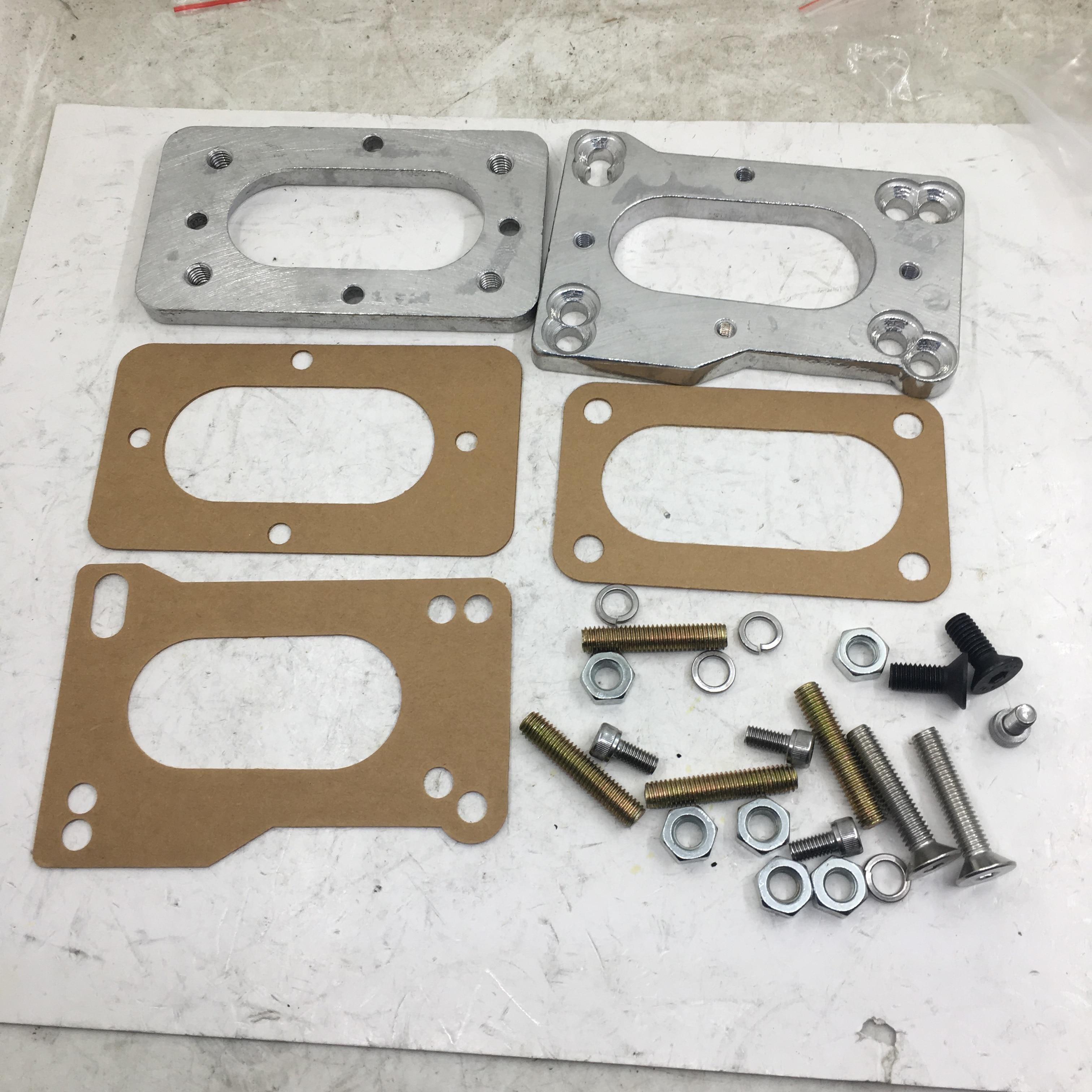 SherryBerg fajs EMPI carburateur carburateur carburateur kit adaptateur pour Toyota 22R 20R Weber joints matériel 32/36 dgv dgev dgav