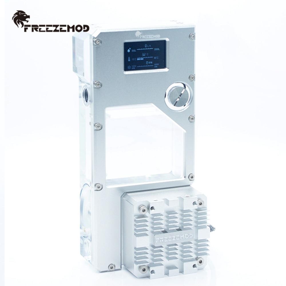 FREEZEMOD الطرد المركزي مضخة خزان المياه المتكاملة تدفق المياه البيانات المكره سرعة الأنابيب درجة الحرارة عرض PUB-FXFS