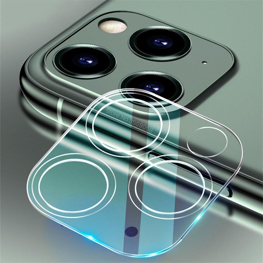 9h filme totalmente transparente para iphone 12 mini 3d capa completa traseira da câmera protetor de lente para iphone 11 pro max vidro temperado caso