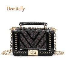 New Style Ladies Diamond Shoulder Bag Fashion Pattern Sequin Decoration Portable Crossbody Bag Womens Handbag Tote Bag Wallet