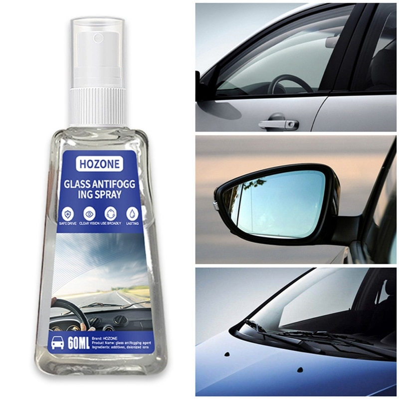 60/30ML Car Windshield Water Rain Repellent Spray Window Rear View Mirror Hydrophobic Coating Agent Cleaner Glass Rainproof