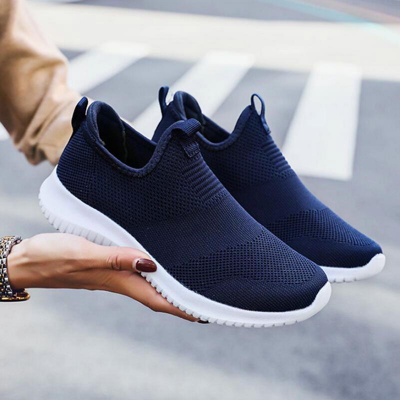 35-48 de talla grande par de zapatos al aire libre transpirable zapatillas...