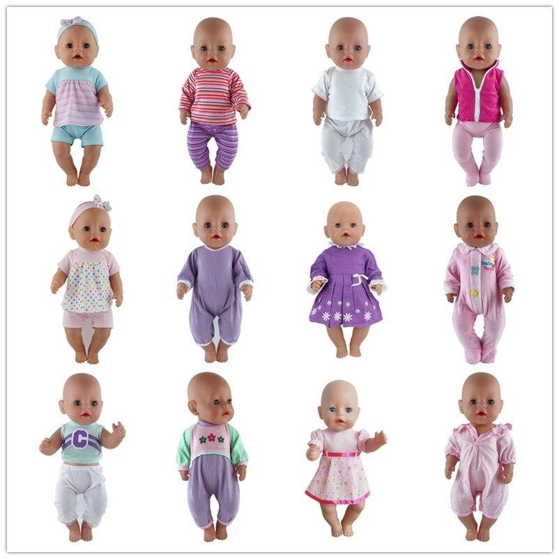 15 видов цветов костюм для кукол, размер 43 см, кукла для новорожденных, 17 дюймов, детская одежда, лучший подарок на день рождения