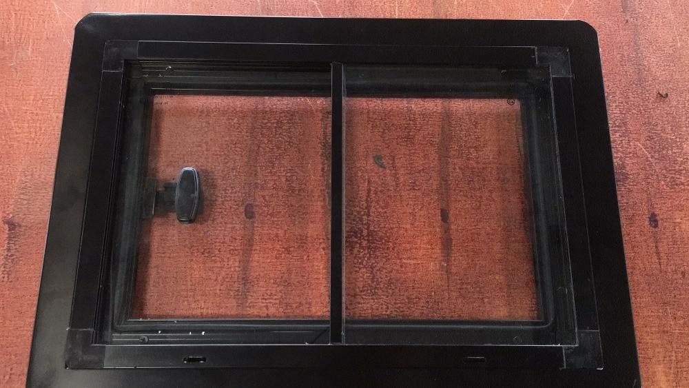 1200X700mm RV Sliding Window Hatch With Tempered Glass Motorhome Van Camper trailer Caravan Accessories enlarge