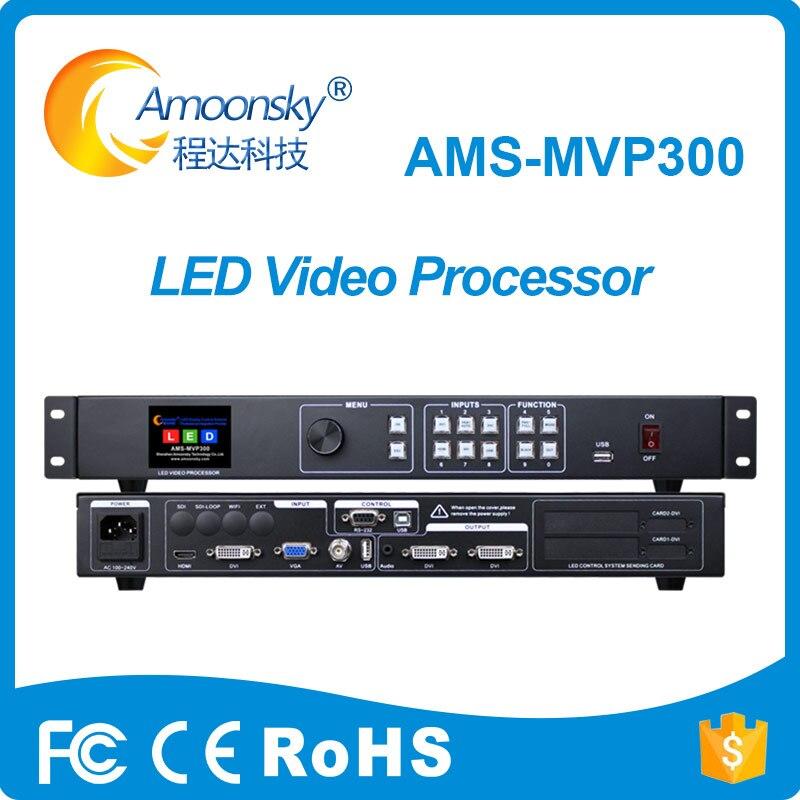 Fábrica original proporciona video controlador de pared mvp300 Procesador de señal de vídeo compatible con el transmisor linsn ts802d para pantalla led flexible de cine