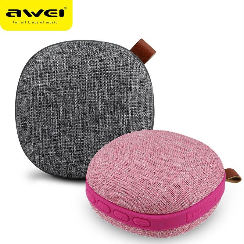 Altavoz Bluetooth AWEI altavoz inalámbrico portátil impermeable altavoz estéreo música envolvente para exteriores soporte de viaje TF Aux