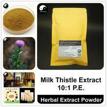 Milk Thistle Extract Powder 10:1, Silybum Marianum P.E., Shui Fei Ji
